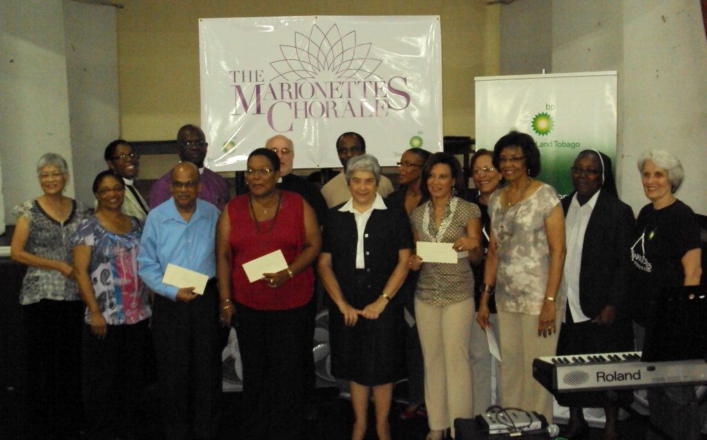 Marionettes donation ceremony