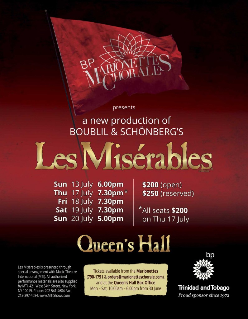 Marionettes Les Miserables Flyer