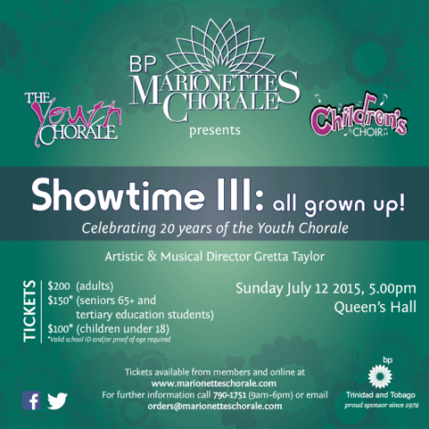 Marionettes Youth Chorale Showtime III