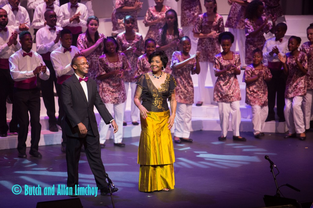Artistic and Musical Director Gretta Taylor and Assistant Musical Director Dr Roger Henry
