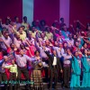 "Curtain call at ""Sing Alleluia"" (2016)"