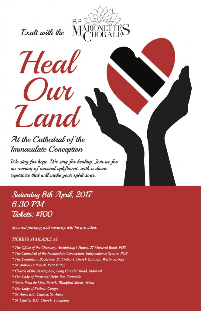 Marionettes Concert Poster – Heal our Land